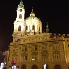 Photo taken at Malostranské náměstí by Dmitry Z. on 8/21/2012