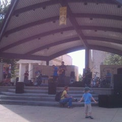 Photo taken at Bronson Park by Brian R. on 8/28/2011