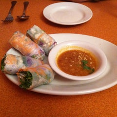 Photo taken at Siam Square Thai Cuisine by Adrienne J. on 4/27/2011