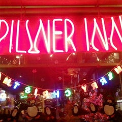 Photo taken at Pilsner Inn by Jeff L. on 12/10/2011