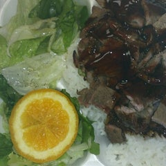 Photo taken at Rascals Teriyaki Grill by April A. on 7/3/2012