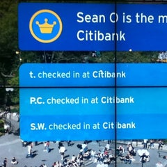 Photo taken at Citi Bike Station by tiryaki on 5/27/2011