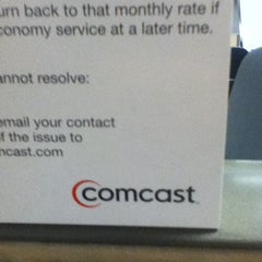 Photo taken at Comcast Cable by Michael R. on 12/30/2011