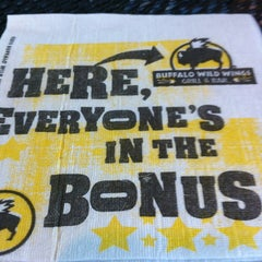 Photo taken at Buffalo Wild Wings by James H. on 1/8/2012