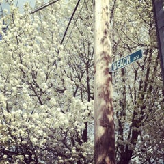 Photo taken at Conimicut Village by Jenna M. on 4/9/2012