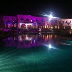 Photo taken at Hotal riad Mogador agdal by Jennifer K. on 1/18/2012