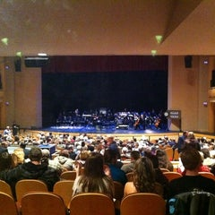 Photo taken at John W. Bardo Fine and Performing Arts Center by Chris R. on 1/25/2012