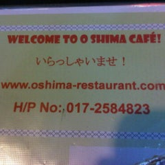 Photo taken at O-Shima Cafe by Fiena D. on 4/18/2011