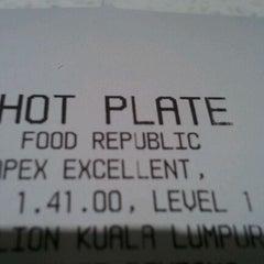 Photo taken at Food Republic by Sandip on 1/4/2012