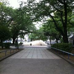 Photo taken at 両国公園 by TERUAKI K. on 7/18/2011