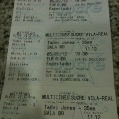 Photo taken at Cines Sucre by Marta E. on 9/5/2012
