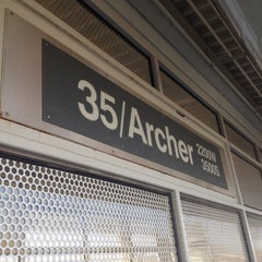 Photo taken at CTA - 35th/Archer by CjAy on 3/27/2012