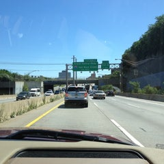 Photo taken at Long Island Expressway (LIE) (I-495) by Cristina Z. on 7/25/2012