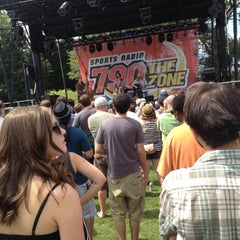 Photo taken at Red Stripe Mid Summer Music And Food Fest by Matt C. on 6/17/2012