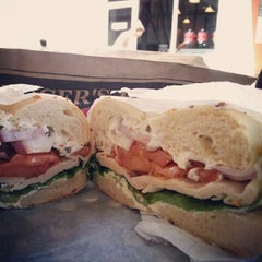 Photo taken at Bruegger's by Buab&Think M. on 6/16/2012