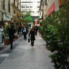 Photo taken at Paseo Bombero Adolfo Ossa by Pablo R. on 4/23/2012