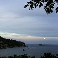 Photo taken at New Heaven Resort & Restaurant by Korbua B. on 4/6/2012