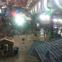 Photo taken at Great Wolf Lodge by Gris B. on 6/24/2012