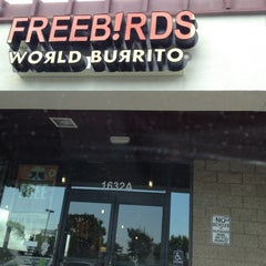 Photo taken at Freebirds World Burrito by Daniel A. on 8/16/2012