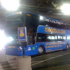Photo taken at Megabus Stop - Washington, DC by Labake A. on 4/10/2012