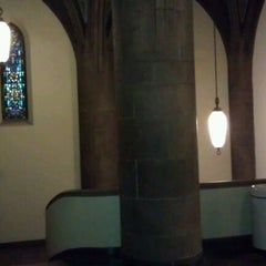Photo taken at Hoskins Library by DJ Bobby D. on 12/7/2011