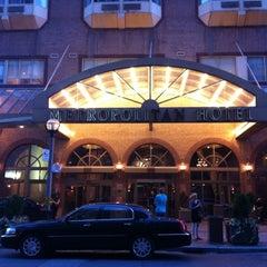 Photo taken at Metropolitan Hotel by Jonathan H. on 8/18/2012
