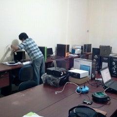Photo taken at Mega Primavista, IT workshop by Gema P. on 9/5/2011