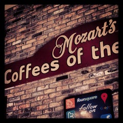 Photo taken at Mozart's Coffee by Mark R. on 4/24/2012