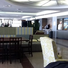 Photo taken at Air New Zealand Koru Lounge by Andrew B. on 7/24/2011