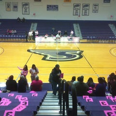 Photo taken at Merkert Gym/Student Center - Stonehill College by JP K. on 2/11/2012