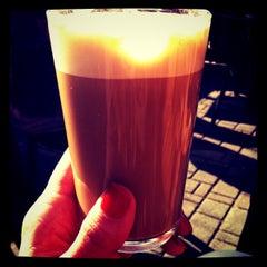 Photo taken at Café Olimpico by maria s. on 3/11/2012