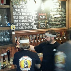 Photo taken at Dry Dock Brewing Company - South Dock by Brian L. on 1/21/2012