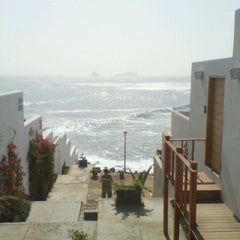 Photo taken at Playa Señoritas by Melissa E. on 9/18/2011