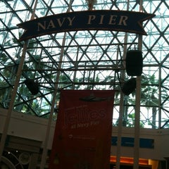 Photo taken at Navy Pier IMAX Theatre by Ana Beatriz M. on 8/5/2012