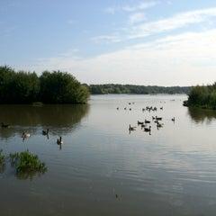 Photo taken at Fleet Pond by Adam Q. on 9/6/2012