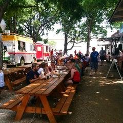 Photo taken at Fort Worth Food Park by Allison D. on 6/24/2012