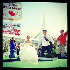 Photo taken at A Little White Wedding Chapel by Andreo Jab B. on 6/15/2012