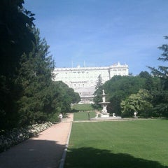 Photo taken at Campo del Moro by Dietmar K. on 5/26/2012