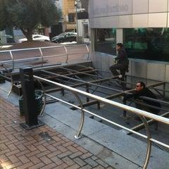 Photo taken at Plaza Nueva by Ana E. on 2/17/2012