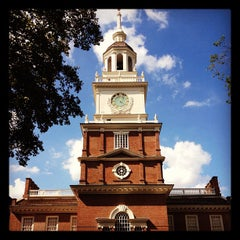 Photo taken at Independence Hall by Eli J. on 8/1/2012