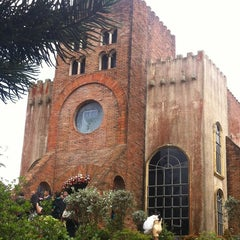 Photo taken at Caleruega Church by Allan D. on 6/10/2012