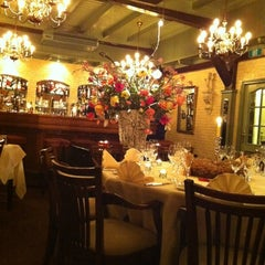 Photo taken at Restaurant Belle Fleur by Patricia d. on 3/18/2012