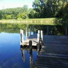 Photo taken at Wood Lake Nature Center by Jeremiah V. on 8/19/2012