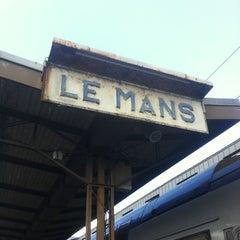 Photo taken at Gare SNCF du Mans by Nicolas S. on 4/21/2012