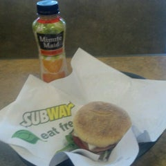 Photo taken at SUBWAY by Eric B. on 4/4/2012