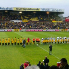 Photo taken at Herman Vanderpoortenstadion | Het Lisp by Naomi B. on 5/5/2012