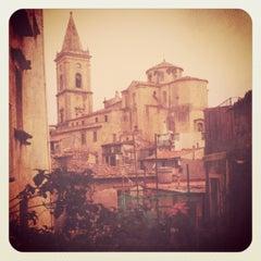 Photo taken at Novara di Sicilia by Benedetta M. on 7/26/2012