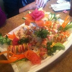 Photo taken at Way Sushi & Teppanyaki by Yadelle D. on 2/17/2012
