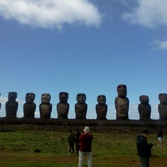 Photo taken at Isla de Pascua | Rapa Nui by Alvaro Q. on 7/25/2012