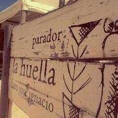 Photo taken at Parador La Huella by Daniel A. on 2/12/2012